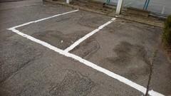 駐車場白線