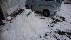 佐久地方大雪警報