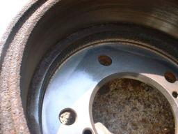 ローター研磨の手順